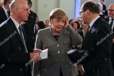 Dr. Norbert Lammert and Bundeskanzlerin Angela Merkel
