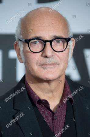 Italian pianist and composer Ludovico Einaudi arrives for the Classic BRIT Awards at the Royal Albert Hall in central London