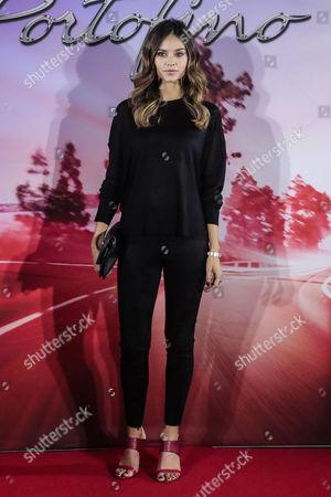 Editorial photo of Ferrari Portofino launch event, Rome Convention Center La Nuvola, Rome, Italy - 23 Oct 2017