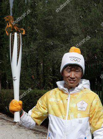 Editorial image of Olympics Pyeongchang Flame Lighting, Olympia, Greece - 24 Oct 2017