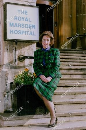 Stock Picture of Phyllis Cunningham Chief Executive Of London's Royal Marsden Hospital Voted Businesswoman Of The Year 1992. Box 769 1003071716 A.jpg.