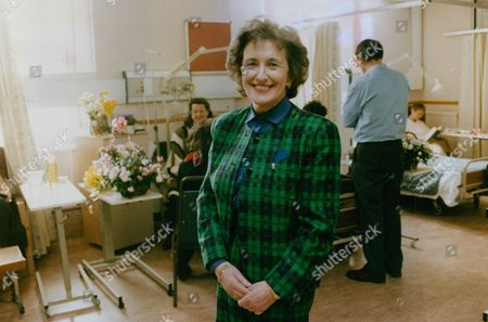 Stock Photo of Phyllis Cunningham Chief Executive Of London's Royal Marsden Hospital Voted Businesswoman Of The Year 1992. Box 769 1003071746 A.jpg.