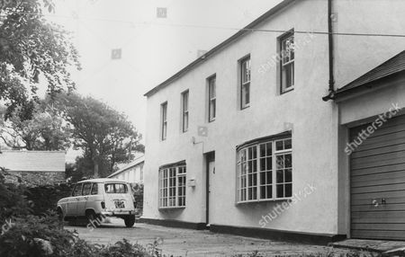 Stock Picture of The Isle Of Man Home Of Artist L. S. Lowry Heiress Carol Spiers. Her Husband John Spiers Along With Their Two Young Children Died When Their Light Aircraft Crashed Into The Sea. Box 772 71307174 A.jpg.