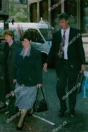 Stephen Davies A Former Executive With The Child Support Agency With His Wife Diane Arriving At Industrial Tribunal Case Where He Is Accused Of The Sexual Harassment Of Female Colleagues. Box 774 1225071759 A.jpg.