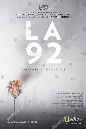 LA 92 (2017) Poster Art