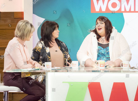 Editorial picture of 'Loose Women' TV show, London, UK - 24 Oct 2017