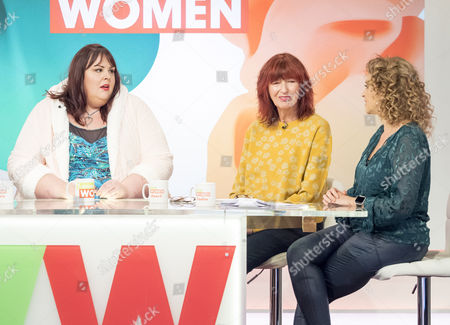 Stock Image of Alice Young, Janet Street-Porter and Nadia Sawalha