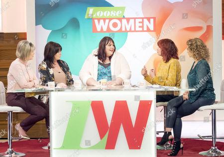 Ruth Langsford, Coleen Nolan, Alice Young, Janet Street-Porter and Nadia Sawalha