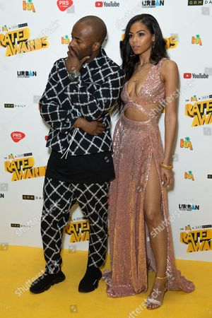 Editorial picture of KA & GRM Daily Rated Awards, The Roundhouse, London, UK - 24 Oct 2017