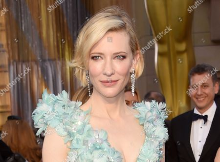 "Cate Blanchett arrives at the Oscars in Los Angeles. Blanchett will make her Broadway debut in Anton Chekhov's first, and long-forgotten, play. The Oscar winner will star opposite Richard Roxburgh in ""The Present,"" which centers on a woman celebrating her 40th birthday at her country summer home"