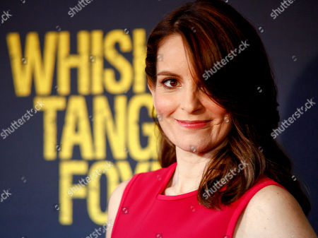 """Tina Fey attends the world premiere of """"Whiskey Tango Foxtrot"""" in New York. Fey, Angela Bassett, Cynthia Nixon, Jada Pinkett Smith and Kathie Lee Gifford are being recognized for their media achievements by the Alliance for Women in Media Foundation at its 41st annual Gracie Awards in May"""