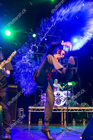 Editorial photo of Sham 69 in concert at O2 Academy, Newcastle, UK - 20 Oct 2017