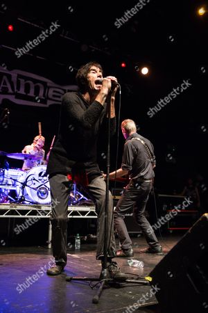 Editorial picture of Sham 69 in concert at O2 Academy, Newcastle, UK - 20 Oct 2017