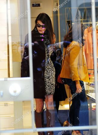 Editorial image of Ilaria D 'Amico out and about, Milan, Italy - 24 Oct 2017