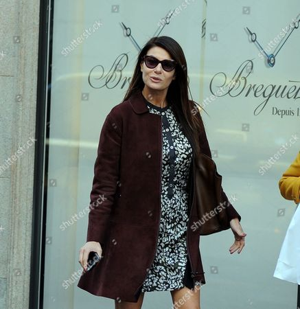Editorial picture of Ilaria D 'Amico out and about, Milan, Italy - 24 Oct 2017