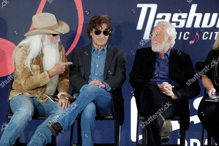 Kenny Rogers, William Lee Golden, Richard Sterban. William Lee Golden, left, and Richard Sterban, center, talk with Kenny Rogers, right, before Rogers received his star on the Music City Walk of Fame, in Nashville, Tenn