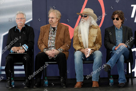 Joe Bonsall, William Lee Golden, Duane Allen,Richard Sterban. The Oak Ridge Boys wait for a ceremony to begin for Kenny Rogers to receive his star on the Music City Walk of Fame, in Nashville, Tenn. From left are Joe Bonsall, Duane Allen, William Lee Golden, and Richard Sterban