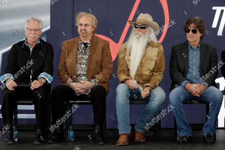 Joe Bonsall, William Lee Golden, Duane Allen, Richard Sterban. The Oak Ridge Boys wait for a ceremony to begin for Kenny Rogers to receive his star on the Music City Walk of Fame, in Nashville, Tenn. From left are Joe Bonsall, Duane Allen, William Lee Golden, and Richard Sterban