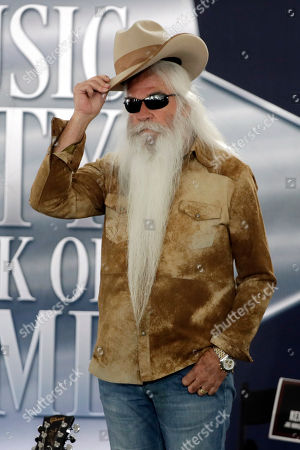 William Lee Golden of The Oak Ridge Boys attends a ceremony for Kenny Rogers, in Nashville, Tenn