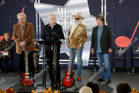 Joe Bonsall, William Lee Golden, Duane Allen, Richard Sterban. The Oak Ridge Boys take part in a ceremony for Kenny Rogers at the Music City Walk of Fame, in Nashville, Tenn. From left are Duane Allen, Joe Bonsall, William Lee Golden, and Richard Sterban