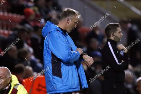 O's manager Steve Davis during Leyton Orient vs Gateshead, Vanarama National League Football at the Matchroom Stadium on 24th October 2017