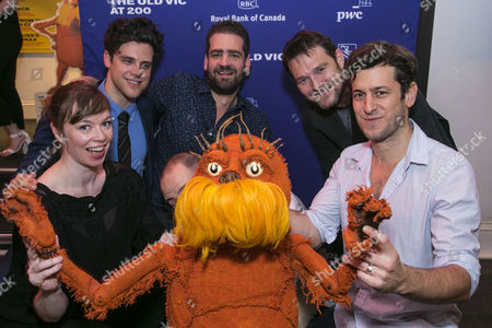 Editorial photo of 'The Lorax' play, After Party, London, UK - 24 Oct 2017