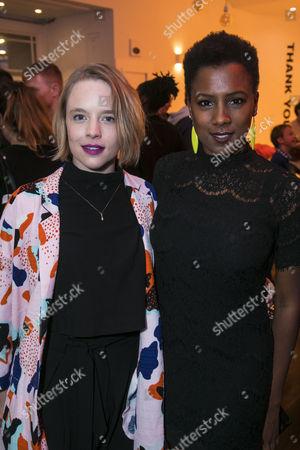Jessica Clark and Jade Anouka