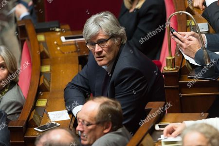 Stephane Le Foll during the weekly session of questions to the government at the National Assembly