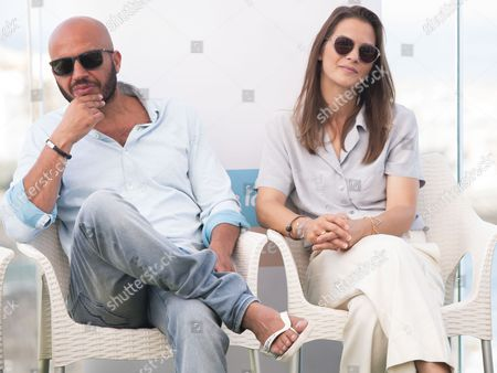 Stock Photo of Dar Salim and Lisa Carlehed
