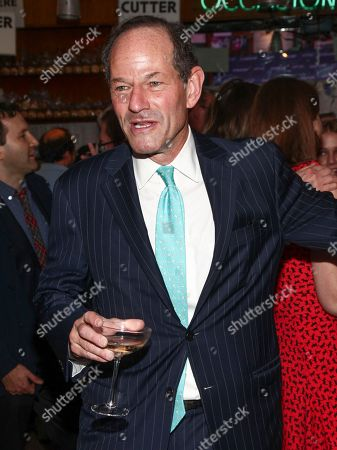 Eliot Spitzer attends New York Magazine's 50th Anniversary Celebration at Katz's Delicatessen, in New York
