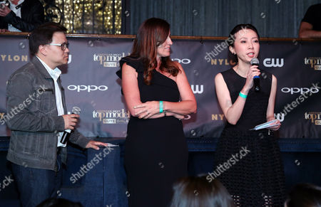Editorial photo of America's Next Top Model Cycle 22 Premiere Party sponsored by OPPO, Los Angeles, USA