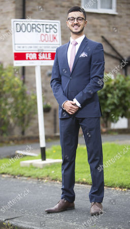 Young estate agent Akshay Ruparelia,  He is the youngest multi-millionaire in the UK.