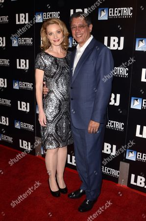 Editorial photo of 'LBJ' film premiere, Arrivals, Los Angeles, USA - 24 Oct 2017