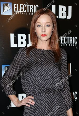 Editorial picture of 'LBJ' film premiere, Arrivals, Los Angeles, USA - 24 Oct 2017