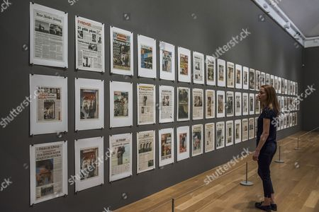 Hans-Peter Feldmann, 9/12 Frontpage, 2001 - Age of Terror: Art since 9/11 a new exhibition at the Imperial War Museum.