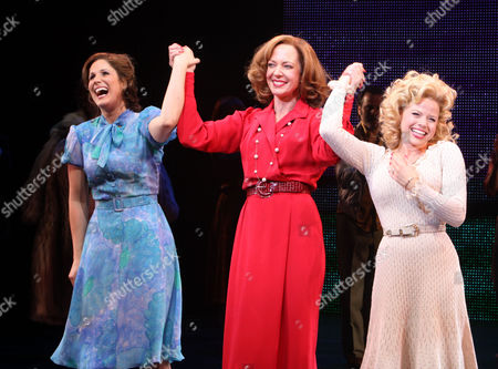 Stock Image of Stephanie Block, Allison Janney and Megan Hilty