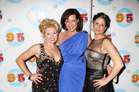 Stock Photo of Megan Hilty, Allison Janney, and Stephanie Block