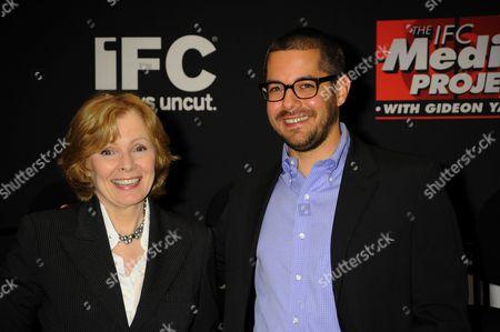 Stock Image of Peggy Noonan and Gideon Yago