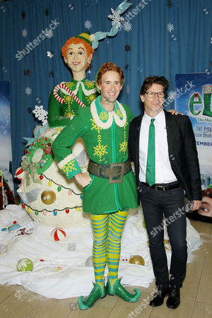 Editorial photo of 'ELF The Musical' treats New York City with Biggest Rice Krispies Treats Sculpture, USA - 25 Oct 2017