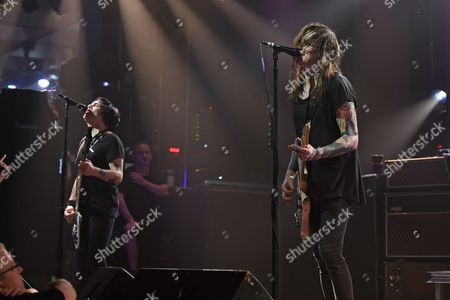 Editorial photo of Against Me in concert at The Culture Room, Fort Lauderdale, USA - 24 Oct 2017