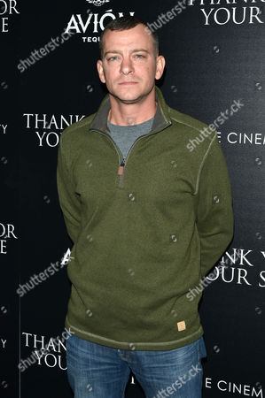 Editorial photo of 'Thank You For Your Service' film screening, Arrivals, New York, USA - 25 Oct 2017