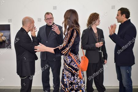 Editorial image of Cerruti 1881 50th Anniversary Cocktail Party, Serpentine Sackler Gallery, London, UK - 25 Oct 2017