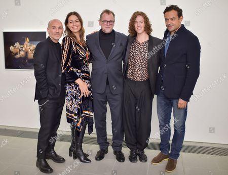 Jason Basmajian, Yana Peel, Stuart Ford, Travis Clausen-Knight and Karim Zeriahen