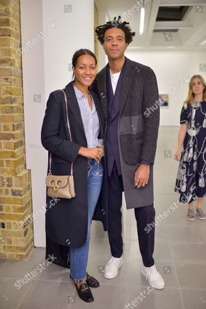 Charlie Casely-Hayford with guest