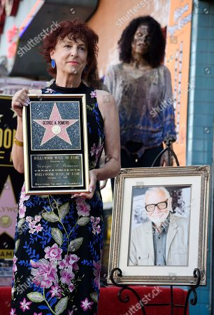 Editorial photo of George Romero Honored with a Star on the Hollywood Walk of Fame, Los Angeles, USA - 25 Oct 2017
