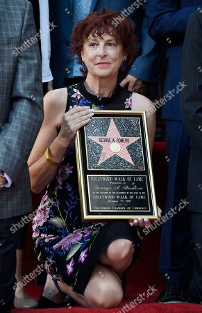 Stock Photo of Suzanne Desrocher, the widow of the late director George A. Romero