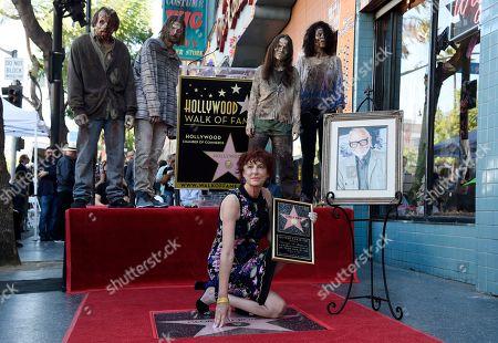 Suzanne Desrocher, the widow of the late director George A. Romero
