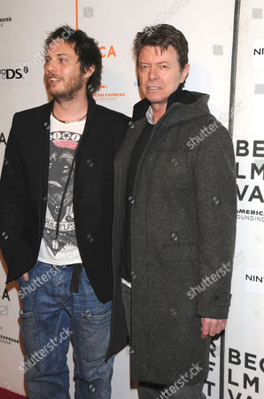 Duncan Jones and his father David Bowie