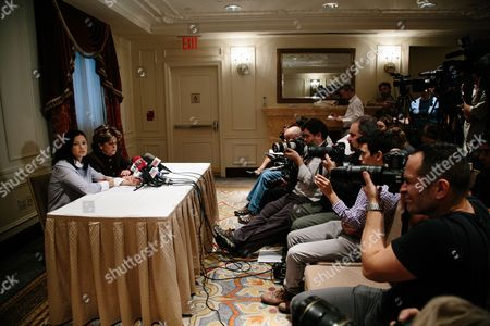 Editorial picture of Press Conference With Alleged Weinstein Sexual Assault Victim, New York, USA - 25 Oct 2017