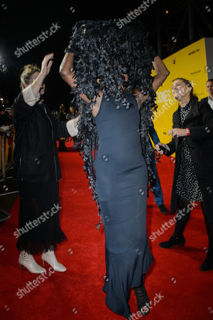 Editorial photo of 'Grace Jones: Bloodlight And Bami' Premiere, London, UK - 25 Oct 2017